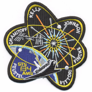 STS 134 Space Shuttle Endeavour Mission Patch