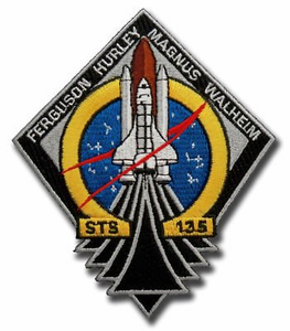 STS 135 Space Shuttle Atlantis<BR><b><font color= red>Latest Space Shuttle Mission</font><b/>