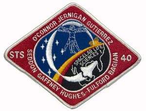 STS-40 Space Shuttle Columbia