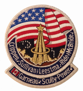 STS-41G Space Shuttle Challenger