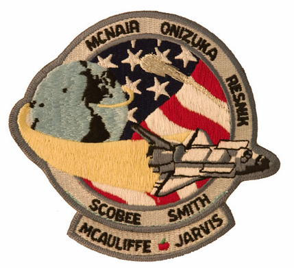 STS-51L Space Shuttle Challenger Mission Patch