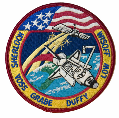 cool space mission patch - photo #15
