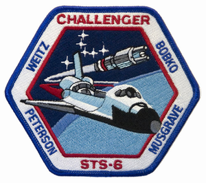 STS-6 Space Shuttle Challenger