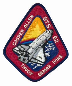 STS-62 Space Shuttle Columbia