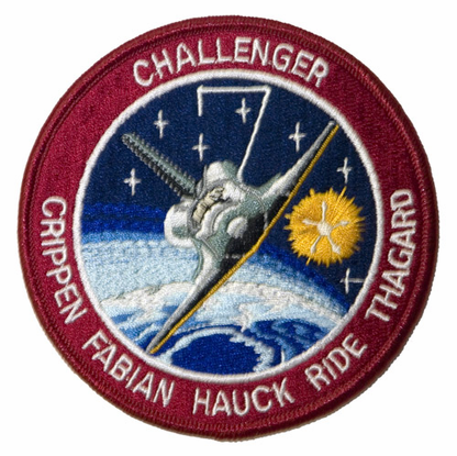 STS-7 Space Shuttle Challenger Mission Patch