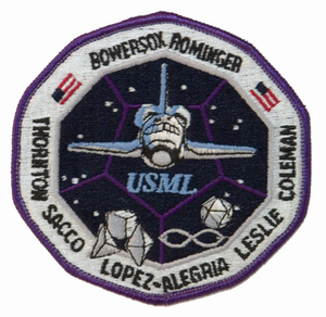 STS-73 Space Shuttle Columbia