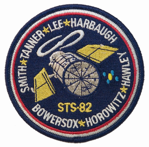 STS-82 Space Shuttle Discovery
