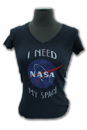 Junior T-Shirt 47 Brand I Need My Space Navy