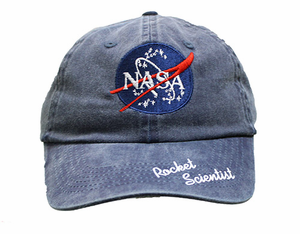Youth NASA Meatball and Rocket Scientist Hat - Navy