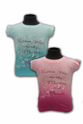 Youth T-Shirt - Love You to the Moon - Assorted Colors