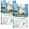 12 MONTH Advantage II Flea Control Medium Dog (for Dogs 11-20 lbs.)