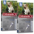 12 MONTH K9 ADVANTIX II BLUE Extra Large Dog (for dogs over 55 lbs)