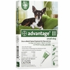 4 MONTH Advantage II Flea Control Small Dog (for Dogs under 10 lbs.)