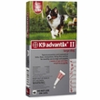4 MONTH K9 ADVANTIX II RED Large Dog (for dogs 21-55 lbs)
