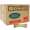BONIES (BULK BOX) Natural Dental Bones (90 Medium Bones)