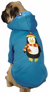 Casual Canine North Pole Pals Hoodie Penguin