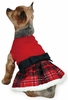 East Side Collection Yuletide Tartan Party Dress