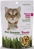Pet Greens Crunchy Cat Treats Turkey and Veggie (3 oz)
