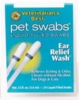 Pet Swabs - Ear Relief Wash Swabs