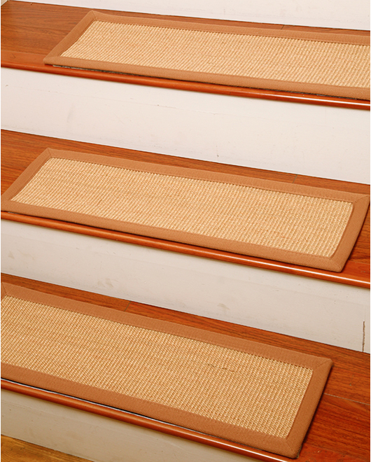 Acadia Sisal Carpet Stair Treads - Clearance