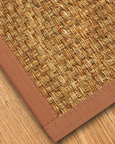 Alps Mountain Grass Rug, Sienna - Clearance