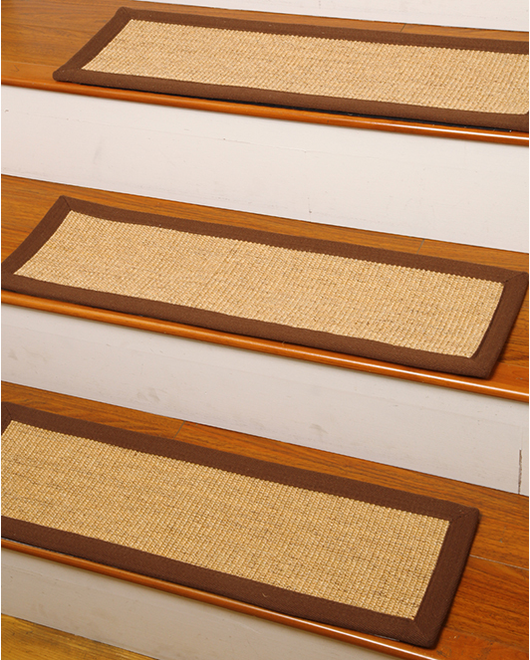Avenues Sisal Carpet Stair Treads - Clearance