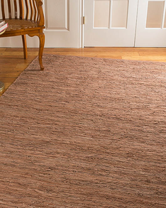 Biscayne Leather Rug