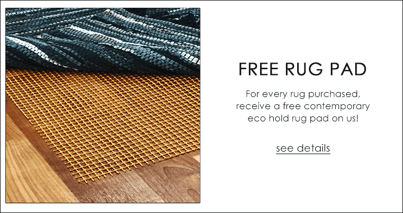 Contemporary Eco Non-Slip Rug Pad