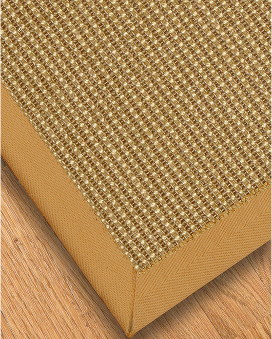 Crossroads Sisal Carpet Stair Treads, Sage - Clearance