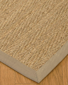 Four Seasons Seagrass Rug, Light Khaki