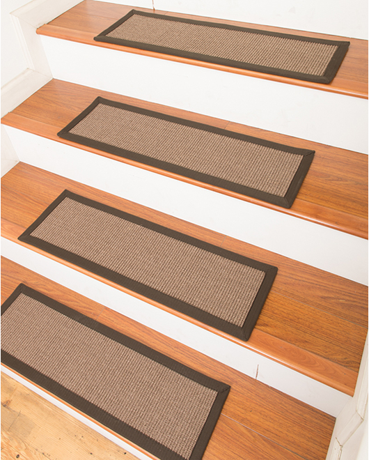 Gilford Sisal Carpet Stair Treads - Clearance