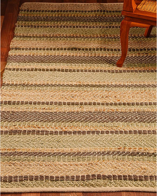 Glamour Jute Cotton Rug