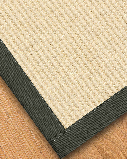 Icon Wool Sisal Rug, Metal - Clearance