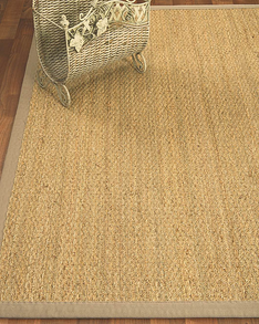 Maritime Natural Seagrass Rug, Light Khaki