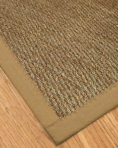 Mayfair Seagrass Rug, Khaki