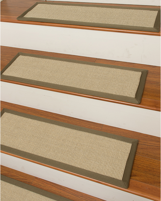 Meadow Sisal Carpet Stair Treads - Clearance