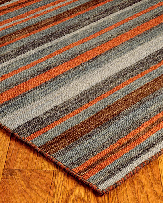 Palermo Dhurrie Wool Rug - Clearance