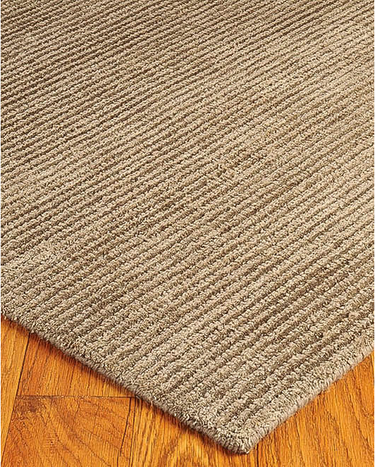 Petra Wool Rug, Taupe - Clearance