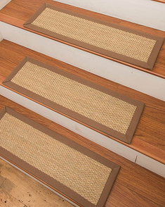 Positano Seagrass Carpet Stair Treads