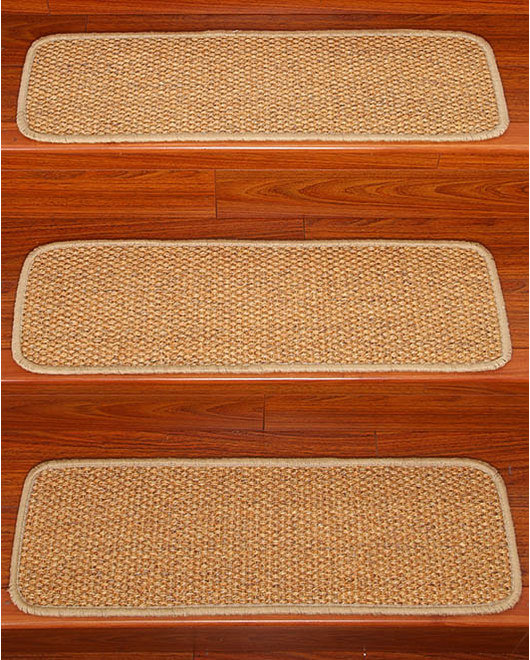 Signature Sisal Carpet Stair Treads - Clearance