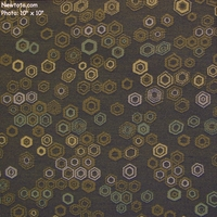 """4 4/8 Yard Remnant of """"Honeycomb - Cotswolds"""" Indoor & Outdoor Geometric Crypton� Fabric from Architex� International"""