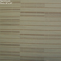 """5 3/8 Yard Remnant of """"Octave - Navigate"""" Striped Outdoor Seating Upholstery Fabric from Maharam Fabric Co"""