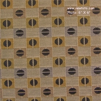"""Abacus - Stone"" Geometric Designer Check Upholstery from Arc-Com Fabrics, Inc"
