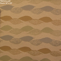 """Acacia - Sand Painting"" Floral Stripe Crypton Upholstery Fabric from Designtex�"