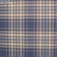 """Alavi - Blueberry"" Lightweight Plaid Fabric for Decor"