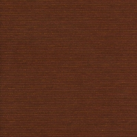 """Alma Matter - Burnt Orange"" Ribbed Sienna Brown Upholstery Fabric"