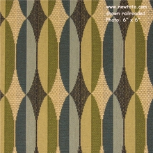 """Alter - Illustrate"" Geometric Stripe Upholstery Fabric from Maharam Fabric Co"