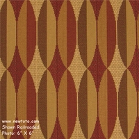 """Alter - Portray"" Geometric Stripe Upholstery Fabric from Maharam Fabric Co"