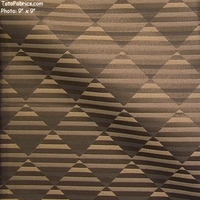 """Balance - Carbon Neutral"" Harlequin Stripe Designer Crypton Fabric from Stacy Garcia"
