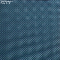 """Banyan - Teal"" Basket Weave Vinyl Upholstery Fabric from CF Stinson Inc"
